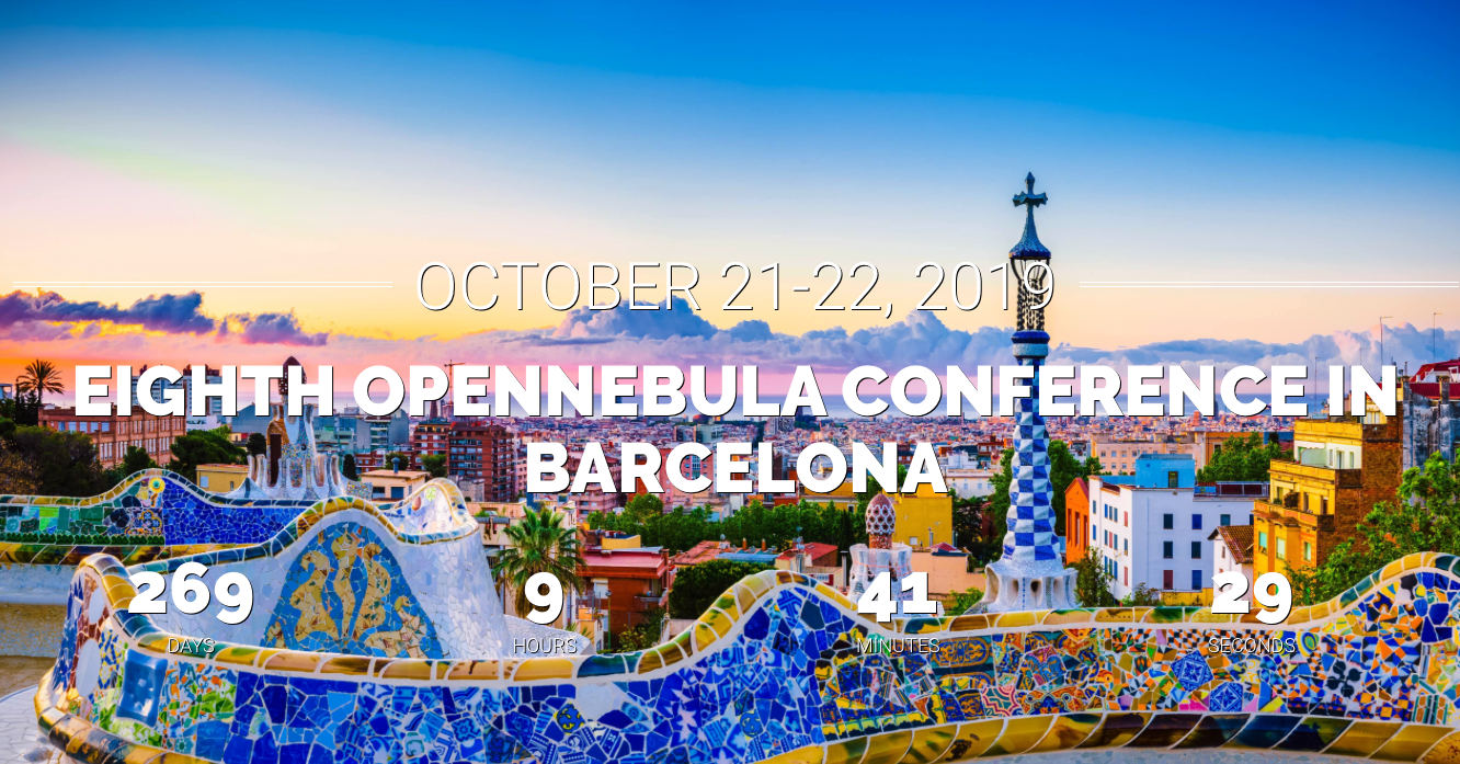 OpenNebulaConf2019 countdown