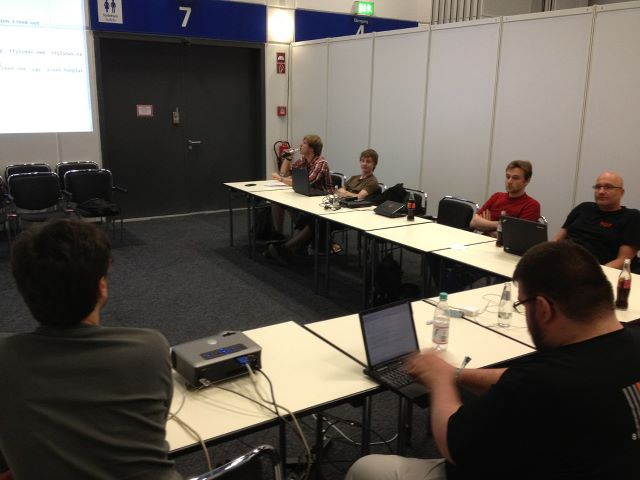 Image from the rootcamp session