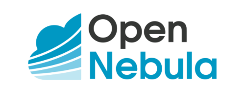opennebula cloud logo white bg