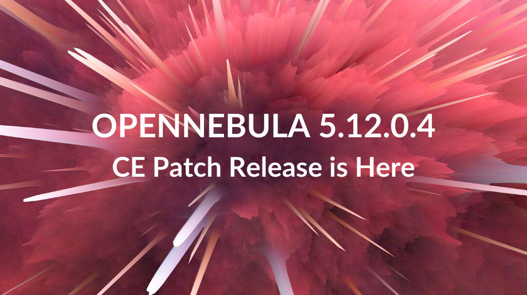 CE Patch Release v.5.12.0.4 is Available!