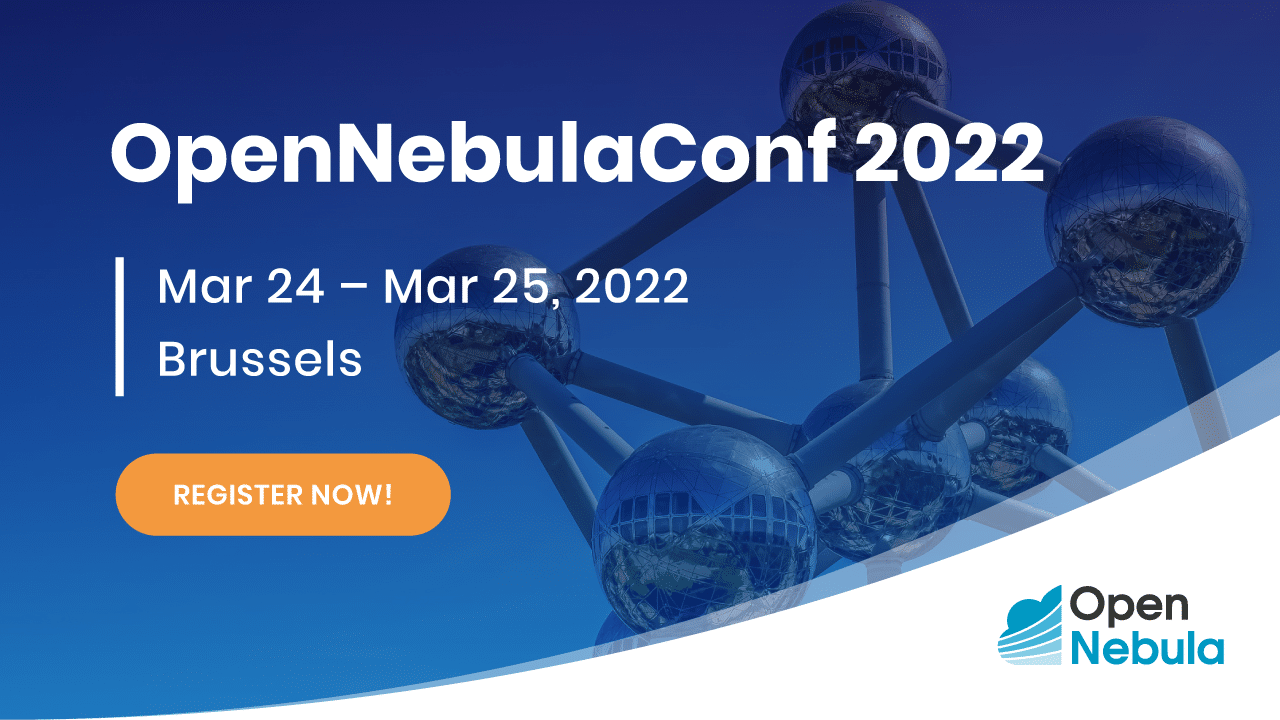 BANNER OPENNEBULA CONF 2022