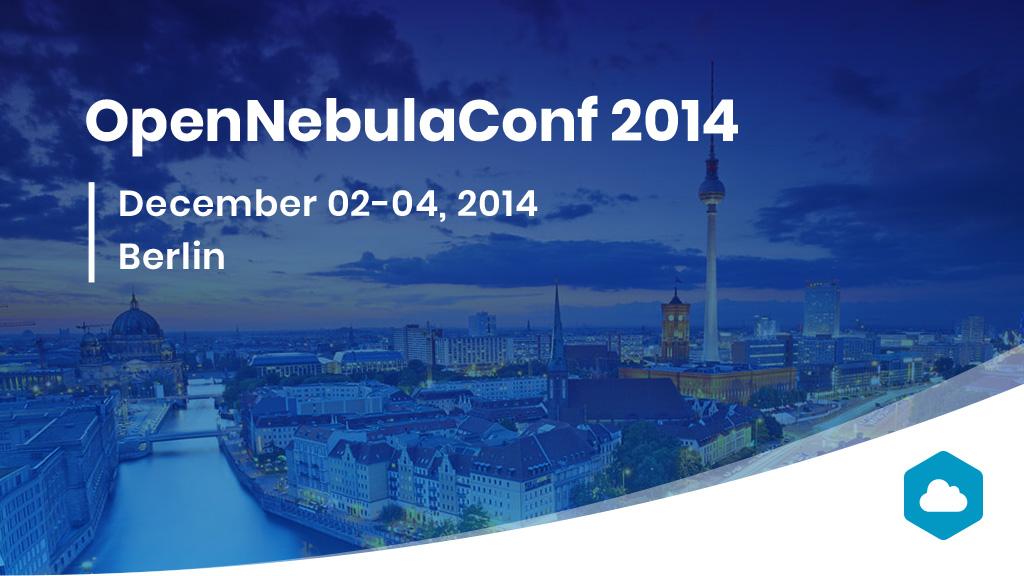 opennebulaconf 2014 Berlin