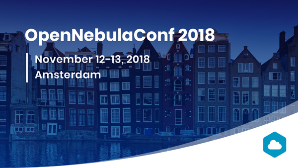 opennebulaconf 2018 Amsterdam