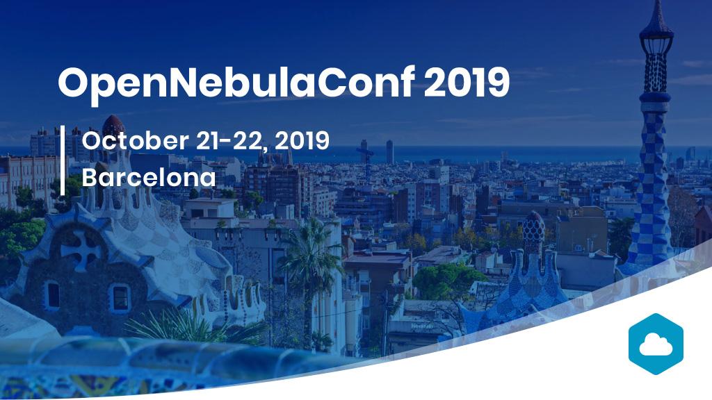 opennebulaconf 2019 Barcelona