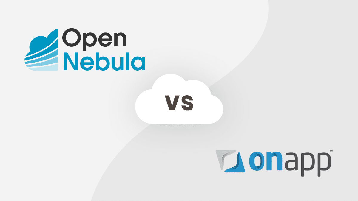 OpenNebula vs OnApp Pricing Review